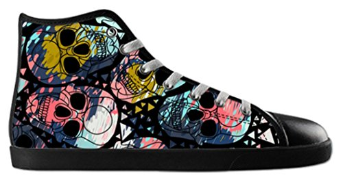 Anti Top 2 Of Day Theme Shoes High Dead Print Canvas with Slip Mens HqAwdFq