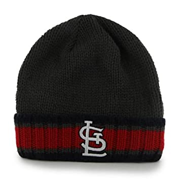 new product a858f 3caff ... best price st. louis cardinals charcoal quotrancheroquot beanie hat mlb cuffed  knit toque 14a61 47edb