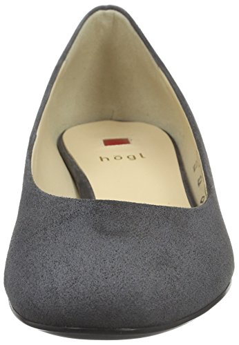 HÖGL Women's 2-10 3002 Closed Toe Heels, Grau (6600), 5 UK Grey (6600)