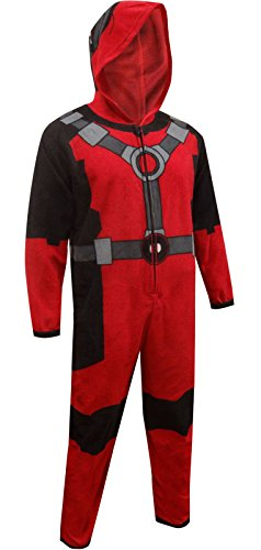 Marvel Deadpool One Piece Pajama Union Suit