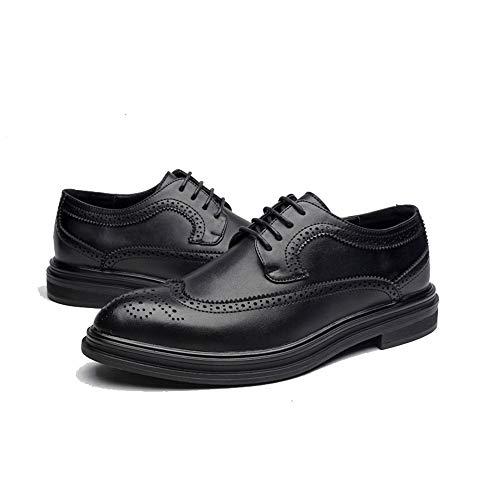 Chaussures Confortable Mode Pour Hommes Britannique Oxford À Tufanyu Eu 41 Décontractées Noir Hommes Décontracté La Taille Et color Confortables Marron Style dCp6ccgWq