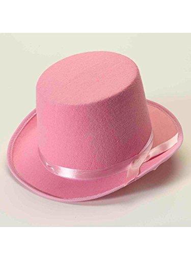 Pink Top Hats - Forum Novelties Men's Deluxe Adult Novelty