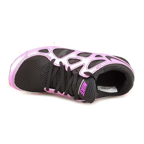 Nike Womens Free Run + 2 Premium - Black / Black-laser Purple-sail, 9 B Us