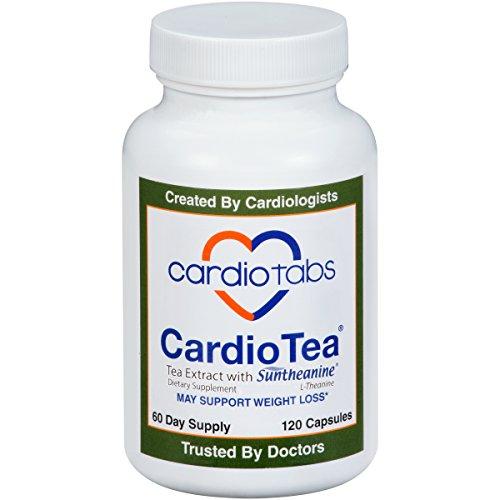 CardioTea with L-Theanine (Suntheanine), 120 capsules