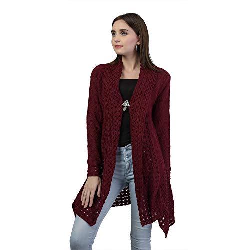 eWools Women #39;s Winter wear Woolen Shrug