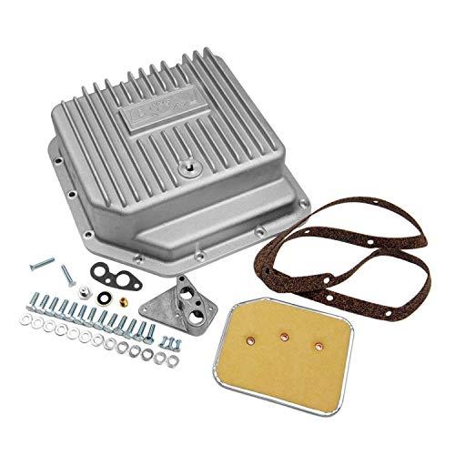 B&M 30280 Aluminum Transmission Pan (400 Oil Pontiac Pan)