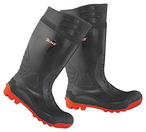 Bryson 18115 Wellington-Stivali di sicurezza con intersuola e puntale rinforzato in acciaio, misura: 10