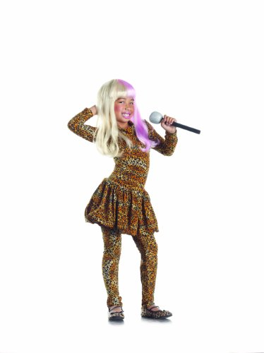 Rap Star Costumes (Party King Leopard Rapstar Child Costume, 4-6)