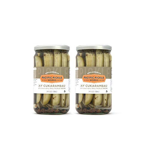 Ay Cukarambas (2-pack) - Spicy pickle spears 24oz jar