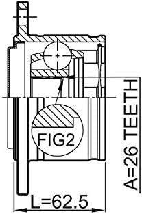 FEBEST 0411-K94RH Right Inner CV Joint