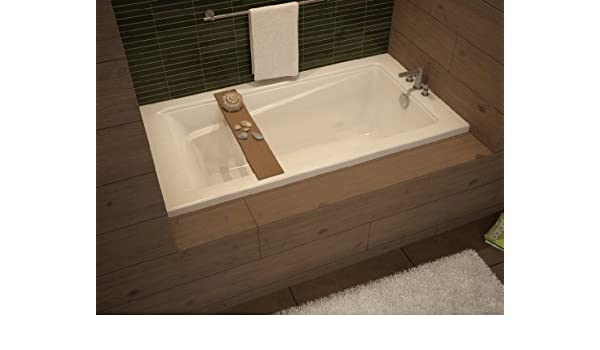 Maax 105514-000-001-001 White Professional Exhibit 6032 Soaking Tub ...