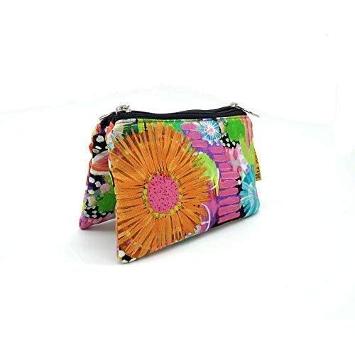 Monedero de tela Flores, Monedero tela de colores, Monedero ...