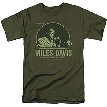 A&E Designs Miles Davis Shirt The Green Miles T-Shirt