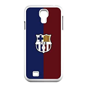 Samsung Galaxy S4 9500 Cell Phone Case White FC Barcelona White Logo VIU142620
