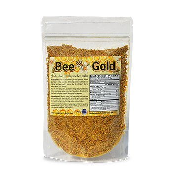 Bee Gold Bee Pollen Granules 137 servings - By Basic Reset by Basic Reset