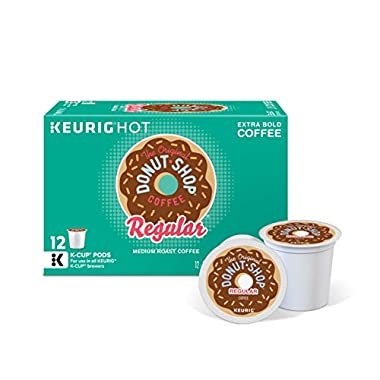 The Original Donut Shop Keurig Single-Serve K-Cup Pods, Regular Medium Roast Coffee, 72 Count (6 Boxes of 12)