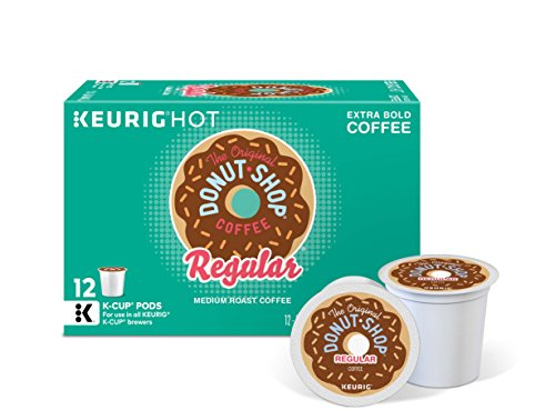 The Original Donut Shop Keurig Single-Serve K-Cup Pods, Regular Medium