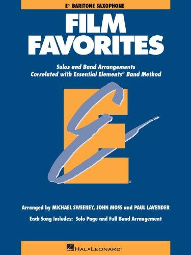 Film Favorites - Baritone Saxophone - Essential Elements Band Folios - Bk