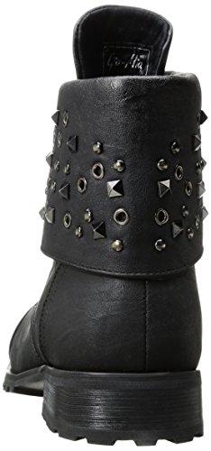 Mia Gia Dancewear Womens Mia Dancewear Black Combat Fashion Gia Convertible Fashion Womens Boot Combat Convertible 0xFr0fgq
