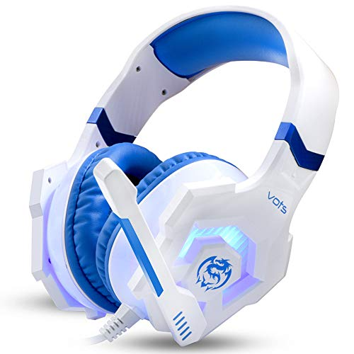 DoinMaster - Vots Stereo Gaming Headset for PS4, PC, Xbox On