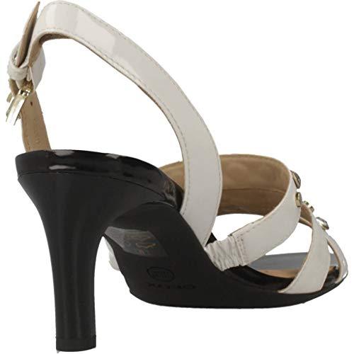 Para Y Blanco Geox Marca Color Sandalias Mujer Chanclas Blanco Celeina c1002 Mujer Modelo D Geox UEd1Rqw