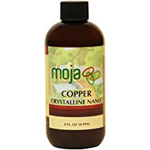 Nano Colloidal Copper Liquid | 8 Oz 30 PPM | BEST 100% Pure Natural Mineral Supplement by MojaWorks