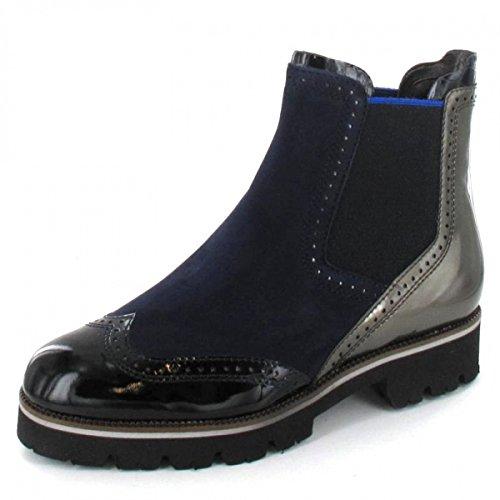 Maripe Stiefelette , Farbe: blau/schwarz/silber
