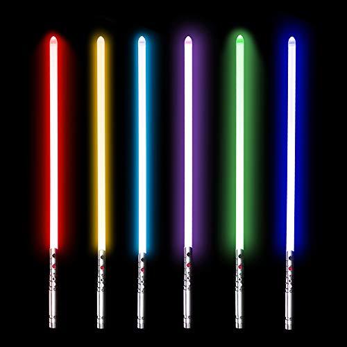 YDD Yddsaber Fx Lightsaber Toy Star Wars Saber Force Lightsaber with Sound and Light, Metal Hilt (Black hilt red Blade) by YDD (Image #5)