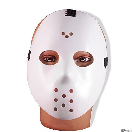 Forum Jason Hockey Halloween Horror Mask White One Size (Halloween 1 1978 Mask)