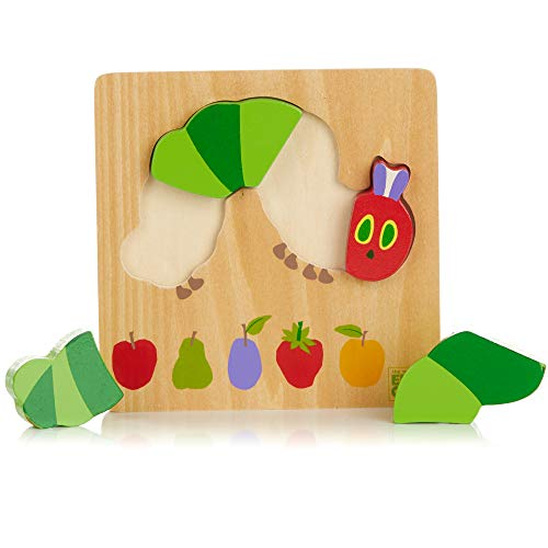 KIDS PREFERRED The World of Eric Carle, The Very Hungry Caterpillar and Friends Caterpillar Puzzle