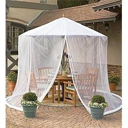 Exceptionnel Patio Umbrella Mosquito Net By Simple DIY Solutions ™