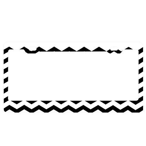 GqutiyulUCOOL Twin Peaks License Plate Frame, Popular License Plate Frame with Screw Caps, US Car Tag Holder Frame