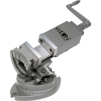 Wilton 11701 3-Axis Precision Tilting Vise 3-Inch Jaw Width, 1-5/16-Inch Jaw Depth