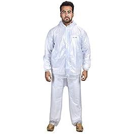 THE DRY CAPE ; LET IT RAIN transparent raincoat for men waterproof best bike solid boy rain coat suit