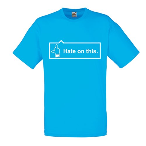 en Hate on This! (Small Blue White) ()