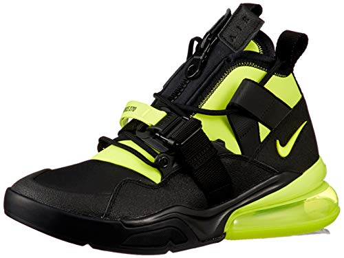 Nike Men's Air Force 270 Utility, Black/Volt, Size 11