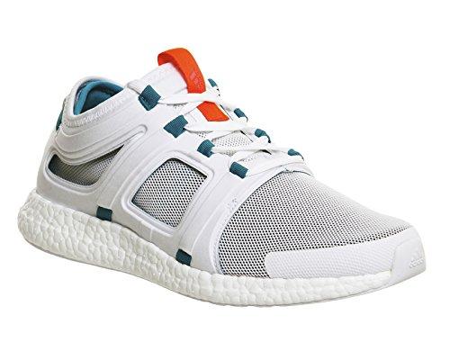 adidas Cc Rocket M, Zapatillas de Running para Hombre Blanco / Verde / Rojo (Ftwbla / Eqtver / Rojimp)