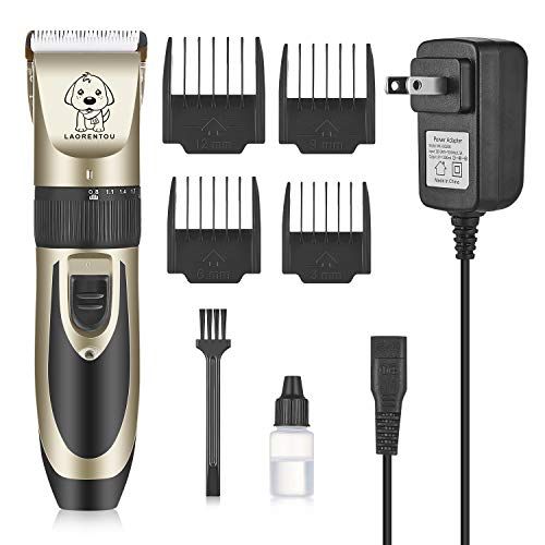 Pet Clippers-Professional Electric Pet Hair Shaver with