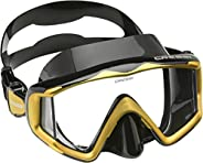 Cressi Perfect View Scuba Diving, Snorkeling Mask in Pure Comfortable Silicone - Liberty Triside SPE: Designed