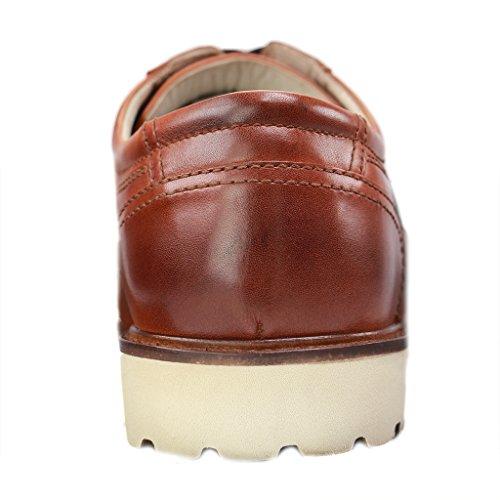 Herren Halbschuhe Firenze Übergrößen Schuhe Braun Manz in Rwfq4
