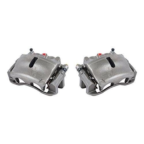 Brake Caliper Set - CKOE00989 [ 2 ] FRONT [ 2WD 4WD ] Premium Grade OE Semi-Loaded Caliper Assembly Pair Set