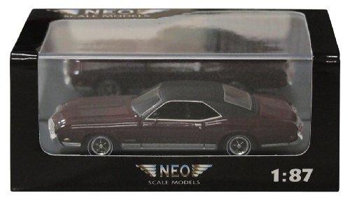 1/87 ビュイック リヴィエラGS 1969(メタリックダークレッド/ブラック) NEO87533