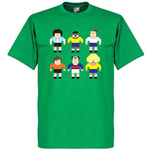 Pixel-Maglietta Legend lettori, colore: verde
