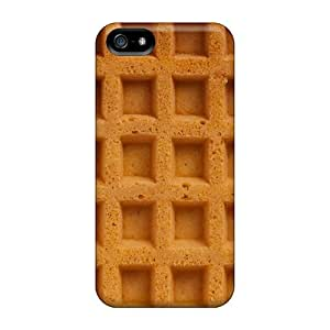 Shock-dirt Proof Waffle Cases Covers For Iphone 5/5s