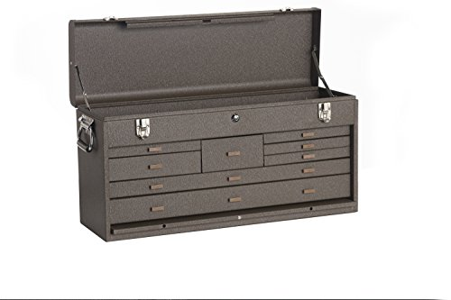 Kennedy Manufacturing 526B 8-Drawer Machinist's Chest with Friction Slides, Brown Wrinkle by Kennedy Manufacturing (Image #1)