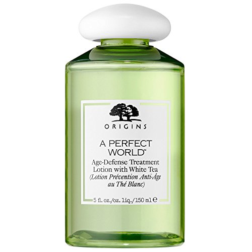 ORIGINS A Perfect World Age-Defense Treatment Lotion with Wh