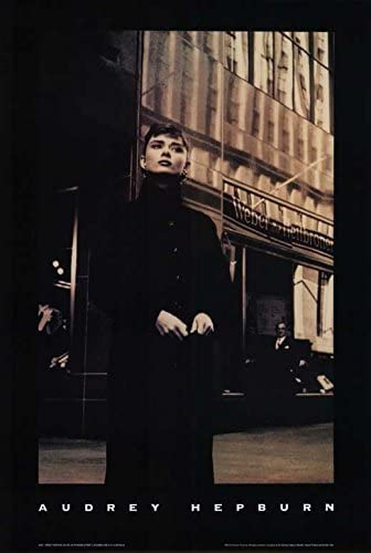 直輸入、小ポスター米国版、オードリー・ヘップバーン Audrey Hepburn