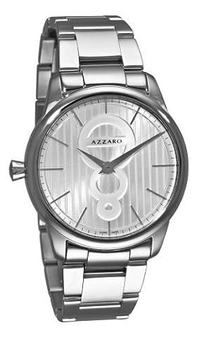 Azzaro Men's AZ2060.12SM.000 Legand Silver Dial Bracelet Watch (Azzaro Men Quartz)