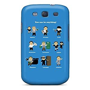 High Grade TianMao Flexible Tpu Case For Galaxy S3 - Be Anything