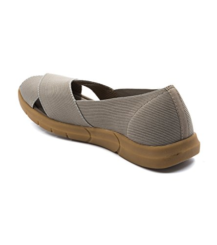 BareTraps Bare Traps Kami Peep-Toe Flats Womens Shoe 5.5M CCkB8c5QrV